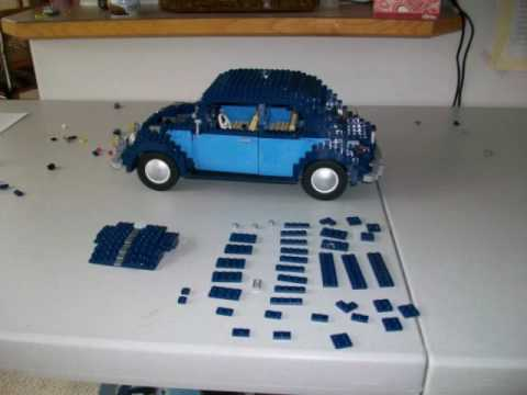 Building Lego VW Beetle