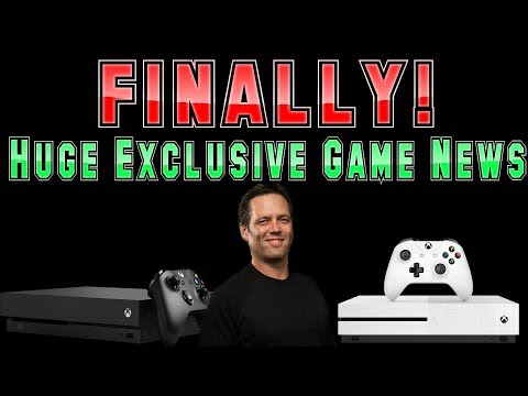FINALLY! Microsoft Makes Some Incredible Xbox One Game Announcements! It's About Time!