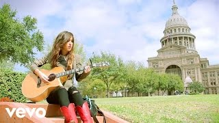 """Kate Voegele performing """"Angel"""" live for VEVO at the Texas Capitol Building, Austin."""