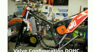 8. 2008 KTM XC 250 F - Details and Features