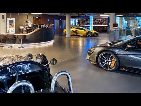 V8 HOTEL Motorworld Stuttgart 2018 видео