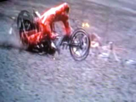 Destroyed in Seconds: Bike Accident