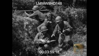 Video INFANTRY IN NORMANDY, 79TH DIVISION NEAR LASSAY; ADVANCING IN HEDGEROWS  - LMWWIIHD148 MP3, 3GP, MP4, WEBM, AVI, FLV Agustus 2019