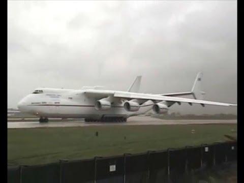 The Antonov An-225 Mriya (Ukrainian:...