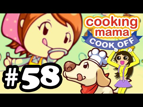 Let's Play Cooking Mama Cook Off #58 Friends & Food Of The World: Japanese