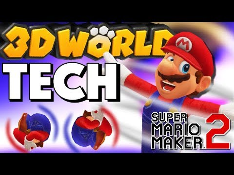 How to master 3D World Tech | Spin Jump, Roll in Super Mario Maker 2