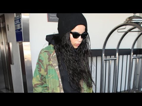 Zoe Kravitz Jets Into LA As Dad Worries About Her Working With His Ex Nicole Kidman