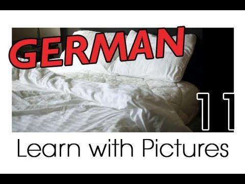 Learn German – German Room Vocabulary