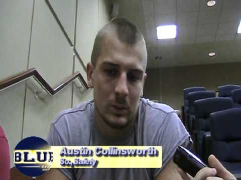 Austin Collinsworth Interview 8/13/2011 video.
