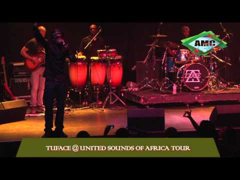 0 VIDEO: 2Face Performs at the United Sounds of Africa Tour Concert2face