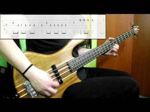 Alice Cooper - I'm Eighteen (Bass Cover) (Play Along Tabs In Video)