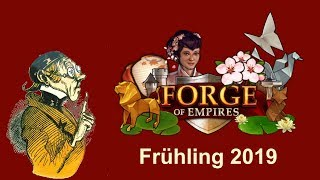 FoETipps: Frühlings Event 2019 in Forge of Empires (deutsch)