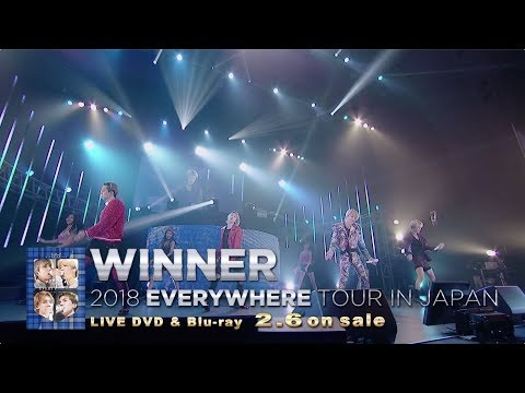 WINNER - ISLAND (WINNER 2018 EVERYWHERE TOUR IN JAPAN)