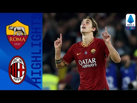 Roma 2-1 Milan   Zaniolo Winner Gives Roma All 3 Points   Serie A