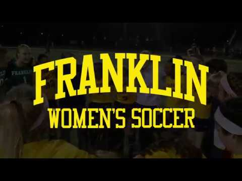 Franklin College Womans Soccer Recruitment Video