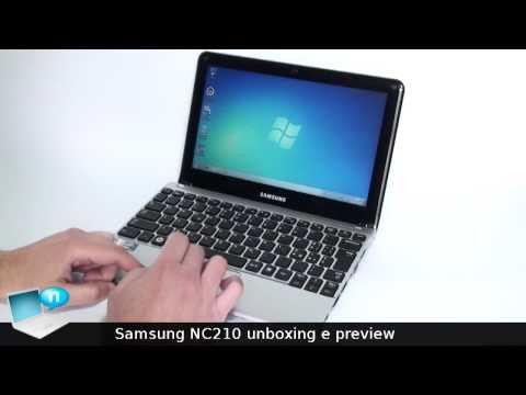 Samsung NC210: unboxing e confronto con il Samsung NF210