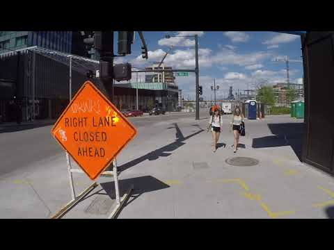 Riding My Bike In Downtown Denver Near Coors Field And Union Station. Part 2