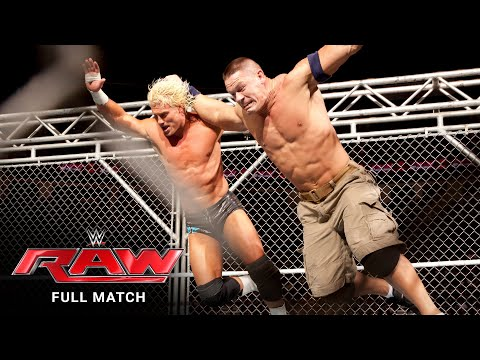 FULL MATCH - John Cena vs. Dolph Ziggler - Steel Cage Match: Raw, January 14, 2013