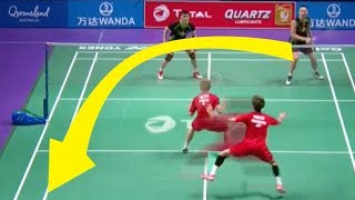Video 50 Fantastic Badminton DECEPTIONS of 2017 MP3, 3GP, MP4, WEBM, AVI, FLV Februari 2019