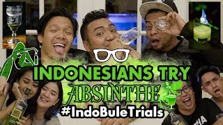 Download Lagu #IndoBuleTrials: Indonesians Try Absinthe (feat. Cameo Project!) Mp3