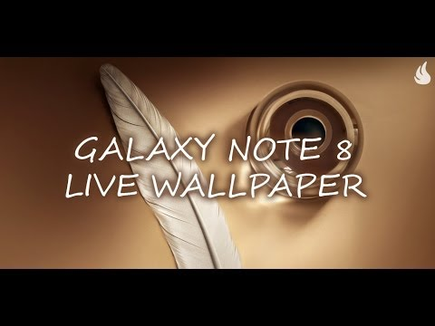 Video of Galaxy Note 8 Live Wallpaper