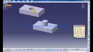 Catia V5 Tutorials|Assembly Design|Move|Manipulation Tool|Part 1