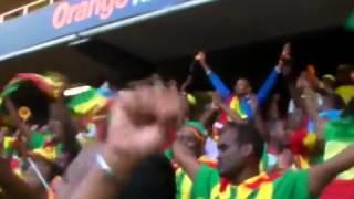 Ethiopian Fans In South Africa Celebrating The Goal By Adane Girma