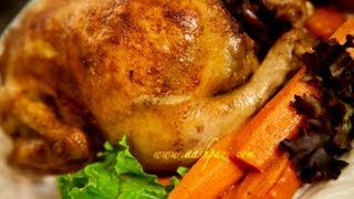 Stuffed Chicken Morgh E Shekam Por (Chicken Recipe)