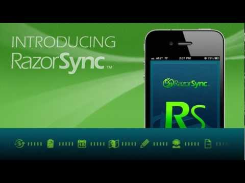Video of RazorSync Mobile Field Service