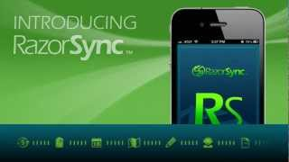 RazorSync Mobile Field Service YouTube video