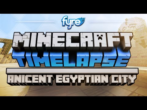 Minecraft Timelapse - Ancient Egyptian City