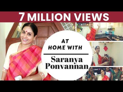 நடிகை சரண்யா பொன்வண்ணன் வீட்டுக்கு போய் வரலாமா ??  At Home with Saranya Ponvannan | I am very particular about Cleanliness