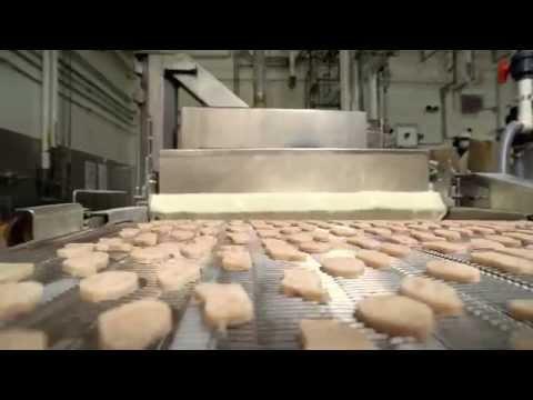 加拿大麥當勞雞塊的製造過程,真想知道台灣的雞塊也是這樣嗎?