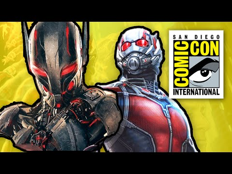 comic con - Marvel Comic Con 2014 Panel Part 1 with all Ant Man 2015 stuff. Paul Rudd, Evangeline Lily and Corey Stoll Yellowjacket part 2 is Avengers Age of Ultron ▻ http://bit.ly/AwesomeSubscribe ...