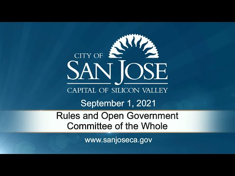 Sep 01 2021 |  Rules & Open Government