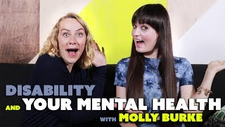 Today I talk with Molly Burke about having a disability and managing our mental health. Molly offers up some of her favorite self care tips for when we are having a hard time. She shares how therapy has changed her life, but if she can't get into see her psychologist, she will journal or write music about it. Recently she has learned how much her diet effects how she feels and makes sure she's eating food that fuels her body and mind. Also, she talks about how exercise, spirituality, and proper sleep have also helped her in her own path to recovery. What helps you most? Did you relate to what Molly shared? Please share your thoughts and experience in the comments! And as always, please share the video! You never know who it may help :) xoxMy video with Molly! https://www.youtube.com/watch?v=KJPHmW8G42k&t=25sHer social links :) https://www.facebook.com/MollyBurkeOfficial/https://twitter.com/MollyBOfficialhttps://www.instagram.com/mollyburkeofficial/----------------------------------------------------------------------------------------------------------------****PLEASE READ****If you or someone you know is in immediate danger, please call a local emergency telephone number or go immediately to the nearest emergency room.------------------------------------------BIG THANK YOU to my Patreon Patrons!  Without you, I couldn't keep creating videos. xoxo https://www.patreon.com/katimorton---------------------------------------------------------I'm Kati Morton, a licensed therapist making Mental Health videos - Depression, Eating Disorders, Anxiety, Self-Harm and more! Mental health shouldn't have a stigma attached to it. You're worth the fight! ------------------------------------------------------------------------------------New Videos every Monday and Thursday! Visit http://www.katimorton.com for community support! MERCH! https://store.dftba.com/collections/kati-mortonPATREON https://www.patreon.com/katimortonTWITTER http://www.twitter.com/katimortonFACEBOOK http://www.facebook.com/katimorton1TUMBLR http://www.katimorton.tumblr.comPINTEREST http://www.pinterest.com/katimorton1Subscribe! http://bit.ly/2j2frsv----------------------------------------------------------------------------------------------------------------Business email: linnea@toneymedia.com ----------------------------------------------------------------------------------------------------------------SENDING KATI STUFFPO Box1223 Wilshire Blvd. #665 Santa Monica, CA 90403----------------------------------------------------------------------------------------------------------------HELP! SUBTITLE VIDEOS http://goo.gl/OZOQXi Subtitle videos if you know English or any other languages! You can help people who are either hearing impaired or non native English speaking. By doing this, you are helping others and strengthening our community.----------------------------------------------------------------------------------------------------------------MY FREE WORKBOOKSEasy to follow at home workbooks for your mental health....Self-Harm workbook  http://goo.gl/N7LtwUEating Disorder workbook  http://goo.gl/DjOmkCLGTBQ workbook  http://goo.gl/WG8jcZ----------------------------------------------------------------------------------------------------------------KATIFAQ VIDEOSWondering if I have answered a question like yours?Search for it here: http://goo.gl/1ECSlOHelp us caption & translate this video!http://amara.org/v/8S9P/