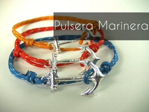 Manualidades DIY - Pulsera Marinera