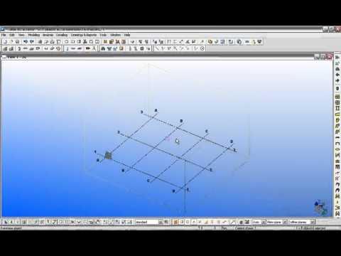 1.1.Create Grid & Views - Tạo hệ lưới và khung nhìn