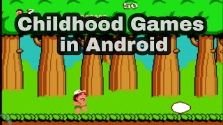 Top 5 Games you played in your chidhood. You can also play classic video games in android for free.Check this video for complete list of top games of 90's . ...