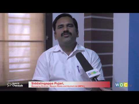 The Expert Talk - Siddalingappa Pujari, MD, Mysore Paints and Varnish Ltd