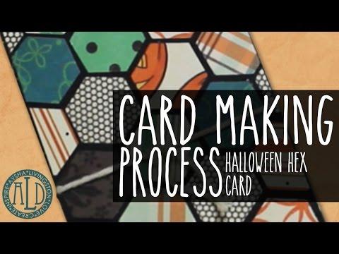 Cardmaking: Halloween Hex Card