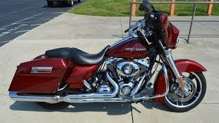9. SOLD! 2009 Harley-Davidson® FLHX - Street Glide™ Red Hot Sunglo 0505