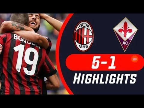 Milan vs fiorentina Highlight & all goal 20/5/2018 HD
