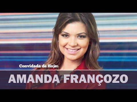 """Papo de Camarim – Amanda Françozo: """"Minha missão é a comunicação"""""""