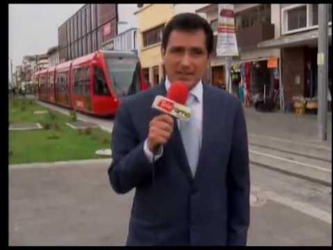 Municipio continúa con las pruebas del tranvía previo a su funcionamiento