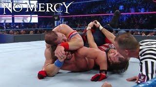 WWE No Mercy 2016 : Aj Styles VS Dean Ambrose VS John Cena - (WWE Championship) -