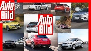 Neue Autos 2019 - Die Top 10 Neuheiten by Auto Bild