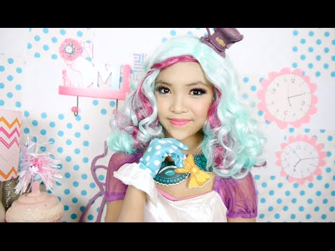 Ever - Since you guys loved my sister Rose's Frankie stein Makeup Tutorial, She is back with another Halloween Video. This is her favorite character from Ever After High. If you want to see more videos...