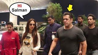 Video Salman Khan IGNORES Malaika Arora At Airport After How She Treated Arbaaz Khan Causing DIVORCE MP3, 3GP, MP4, WEBM, AVI, FLV September 2018