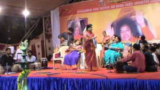 Sri Sathya Sai Baba Birthday Celebrations 2012 Ambili And Team Bhajan Program